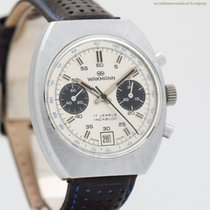 Wakmann Chronograph 38mm Manual winding 1970 pre-owned Silver