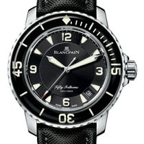 Blancpain 5015 1130 52A Steel 2019 Fifty Fathoms 45mm new