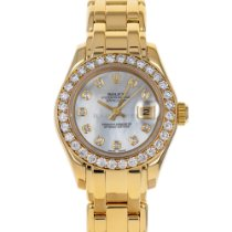 Rolex 69298 Yellow gold 1992 Lady-Datejust Pearlmaster 29mm pre-owned United States of America, Maryland, Baltimore, MD