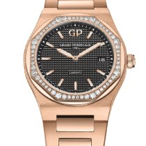Girard Perregaux Rose gold Quartz new Laureato