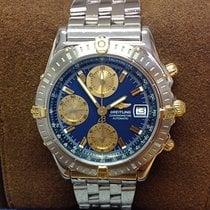 Breitling Chronomat Gold/Steel 39mm Blue No numerals United Kingdom, Wilmslow