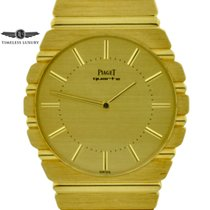 Piaget Polo pre-owned 34mm Gold Yellow gold
