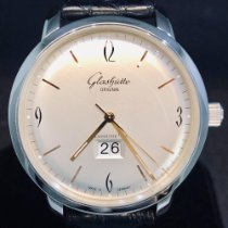 Glashütte Original Acier 42mm Remontage automatique 2-39-47-01-02-04 occasion