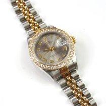 Rolex Lady-Datejust Gold/Steel 26mm Silver Roman numerals United States of America, New York, Staten Island