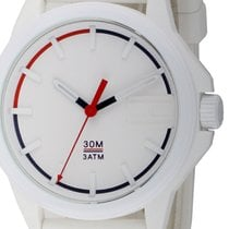 Tommy Hilfiger Plastic Quartz White 44mm new