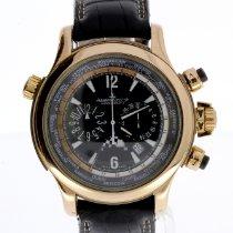 Jaeger-LeCoultre Master Compressor Extreme World Chronograph Ruzicasto zlato Crn
