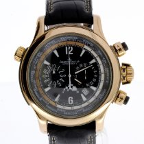 Jaeger-LeCoultre Master Compressor Extreme World Chronograph Aur roz Negru