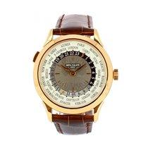 Patek Philippe World Time Pозовое золото 38.5mm Cерый