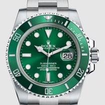 Rolex Submariner Date Steel 40mm Green No numerals Canada, Toronto