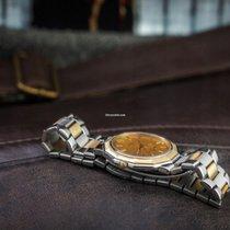 Baume & Mercier Riviera Acero y oro 34mm Oro