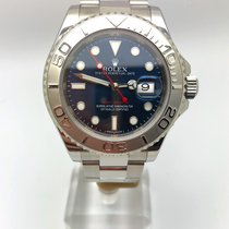 Rolex Yacht-Master 40 Steel 40mm Blue No numerals United Kingdom, Leicester