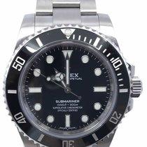 Rolex Submariner (No Date) 40mm Black No numerals
