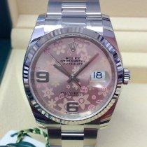 Rolex Datejust Acél 36mm Pink Arab