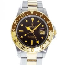 Rolex GMT-Master Steel 40mm Brown