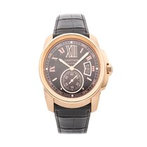 Cartier Calibre de Cartier Rose gold 42mm Brown Roman numerals United States of America, Pennsylvania, Bala Cynwyd