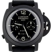 沛納海 Luminor 1950 8 Days Chrono Monopulsante GMT 陶瓷 44mm 黑色