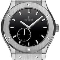 Hublot Classic Fusion Classico Ultra-Thin Titanium Black Shiny...