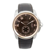 Cartier Calibre de Cartier Chronograph 42mm Steel & Rose Gold...