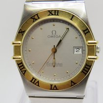 Omega CONSTELLATION 1975  Steel & Gold Quartz Gent's Used Watch