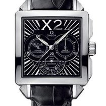 Omega De Ville X2 Chronograph Stainless Steel Watch