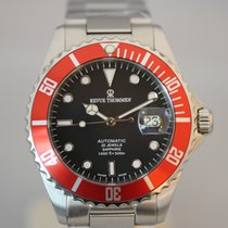 Revue Thommen Steel 42mm Automatic 17571.2136 new