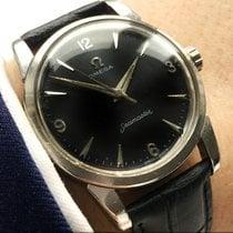 Omega Rare Omega Seamaster Calatrava black dial Vintage