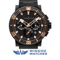 Ulysse Nardin Maxi Marine Diver Black Sea Chronograph Ref....