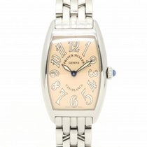 Franck Muller Casablanca Watch Stainless Steel Quartz Pink 8906