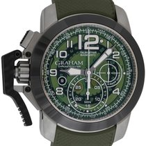 Graham : Chronofighter Oversize Target Green :  2CCAC.G03A.K94...