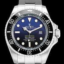 Rolex Deep Sea Black-blue/Steel Ø44 mm - 116660