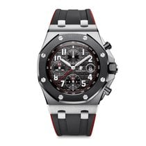 Audemars Piguet Royal Oak Offshore Chronograph Steel 42mm Black Arabic numerals United States of America, Iowa, Des Moines