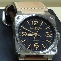 Bell & Ross 42mm Automatic new BR 03-92 Steel Black