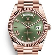 Rolex Day-Date 40 Rose gold 40mm Brown United States of America, New Jersey, Woodbridge