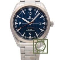 Omega Railmaster Co-Axial 40 mm Steel Blue Dial 220.10.40.20.0...