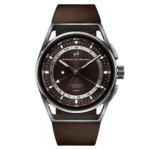 Porsche Design 1919 Globetimer UTC Titanium & Brown