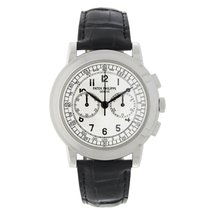Patek Philippe Chronograph White gold 42mm White Arabic numerals United States of America, New York, New York