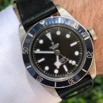 Tudor 79220B Stål 2015 Black Bay 41mm ny