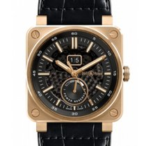 Bell & Ross BR 03-90 Grande Date et Reserve de Marche Rose gold 42mm Black No numerals United States of America, New Jersey, Princeton