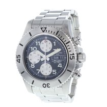 Breitling Superocean Chronograph Steelfish pre-owned 44mm Chronograph Date Steel