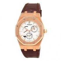 Audemars Piguet Royal Oak Dual Time Rose gold 39mm Silver United States of America, New York, New York