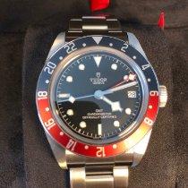 Tudor Black Bay GMT Stahl 41mm Schwarz Keine Ziffern Schweiz, Genève