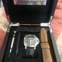 Panerai Luminor 1950 3 Days GMT Power Reserve Automatic PAM 01321 2017 pre-owned