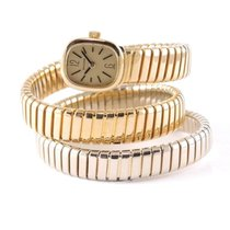 Bulgari Yellow gold Manual winding Gold Serpenti