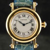 Cartier Diabolo Żółte złoto 27mm Biały