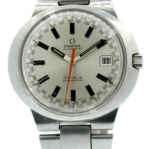 Omega Genève Steel 41mm Silver No numerals United States of America, California, West Hollywood