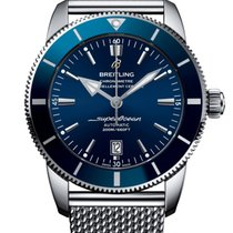 Breitling Superocean Héritage II 46 Steel 46mm Blue No numerals United States of America, Iowa, Des Moines