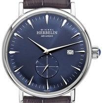 Michel Herbelin Steel Manual winding Blue 40mm new