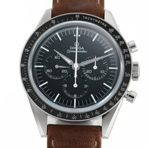 Omega Steel Manual winding Black 40mm new Speedmaster Professional Moonwatch