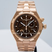 Vacheron Constantin Overseas Dual Time Rose gold 42mm Brown United States of America, Massachusetts, Boston