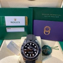Rolex Yacht-Master 42 White gold 42mm Black No numerals